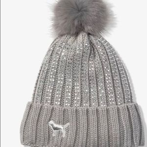 Victoria Secret Pink Sherpa Hat